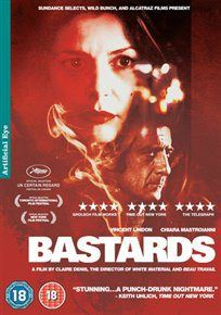BASTARDS (18) 2013 FRANCE DENIS, CLAIRE £19.99 Marco receives a call from his sister, urgently calling him back to Paris #worldonlinecinema  #zzfr www.worldonlinecinema.com