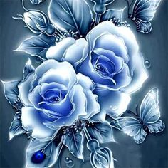 Blue Roses Wallpaper, Flower Wallpaper, Wallpaper Backgrounds, Beautiful Flowers Wallpapers, Beautiful Roses, Blue Rose Tattoos, Rose Art, 5d Diamond Painting, Cross Paintings