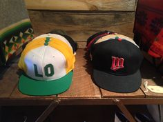 Vintage headwear!!! From snapbacks to fitteds stop in and get your vintage style together this spring with a new cap or a old cap...
