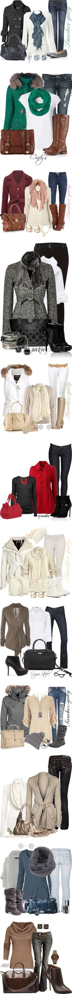 """Baby, It's Cold Outside"" by sanchez-gaby ❤ liked on Polyvore"