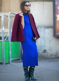 Espiando el estilo de calle: esta es la gama de colores que triunfa en el invierno
