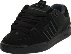 Globe Mens Fusion Skate Shoes, Black/Night, 10.5 M US Globe