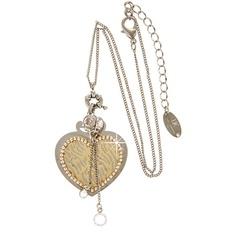LK DESIGNS Hearts Silver Pendant...