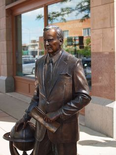George H.W. Bush Statue, Presidents Tour, Rapid City, South Dakota - 41st President of the United States of America