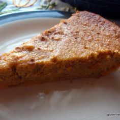 Crustless Sweet Potato Pie (Gluten Free, Dairy Free, with Grain-Free Option)