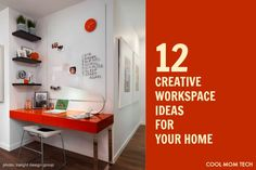 More click [.] Creative Home Design Ideas That Can Inspire You Office Space 12 Creative Workspace Ideas For Your Home That Inspire You To Get The Job Done Impressive Interior Design Super Cool Creative Workspace Ideas For Your Home Small Laundry Rooms, Laundry Room Design, Workspace Inspiration, Home Decor Inspiration, Bunker Home, Beautiful Small Homes, Home Organization Hacks, Organizing, Ideas Para Organizar