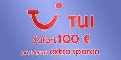 100,00 € Rabattcode pro Person bei TUI