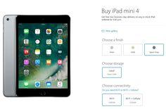 Apple представиха iPad Mini 4 с по-голям обем на вградената памет, като в същото време запазиха старата цена. iPad mini 4 128GB струва 399 долара...