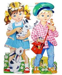 Extra Large Children with Pets Scraps ~ Vintage MLP ~ England ~ tall Vintage Paper, Vintage Dolls, Vintage Art, Vintage Baby Pictures, Vintage Images, Baby Cartoon, Cartoon Pics, Decoupage Printables, Retro Illustration
