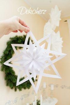 Wir sind schon den ganzen Dezember im Sternenfieber! Angefangen mit den klassischen Scherenschnitt-Sternen aus Papier, über die momentan ü...