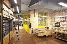 Must see: La Fabrique - Crossmarks Paris France, Christophe Adam, Design Blog, Store Design, Restaurants, Retail Interior, Built Environment, Design Furniture, Retail Shop