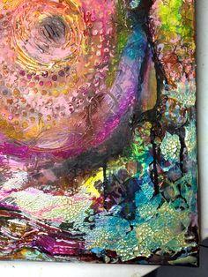 Close up, acrylics on canvas.