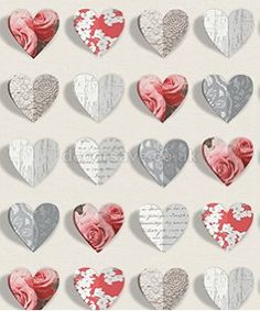 Rustic Heart Wallpaper Natural Arthouse 669600