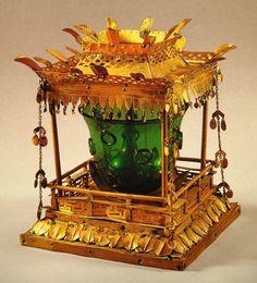 Reliquary from the 5-Story pagoda of Songnim-sa Temple, near Daegu - Unified Silla Period 칠곡 송림사 사리기(漆谷 松林寺 舍利器)