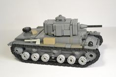Lego ww2 -Panzer III Ausf. H- (Review on YouTube)