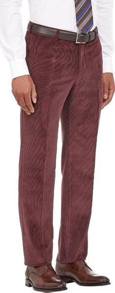 Isaia Napoli Italian Sartorial luxury beautiful Cords Pants 52/36W NWT$595+tax #isaia #luxurysemiCasualPants