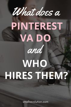 Learn what services you can offer as a Pinterest VA and know who your prospective clients are.  #PinterestVA #virtualassistant #workfromhome #job Work From Home Business, Work From Home Tips, Make Money From Home, Make Money Online, How To Make Money, How To Become, Virtual Jobs, Virtual Assistant Services, Busy At Work