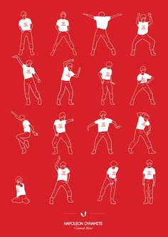 Dancing Plague of 1518 – All choreographies from cult movies in posters