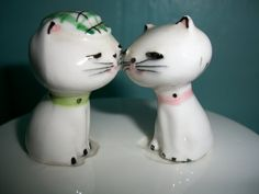 Vintage Holt Howard Ceramic Covered Dish Cottage Cheese Container Cozy Kitten