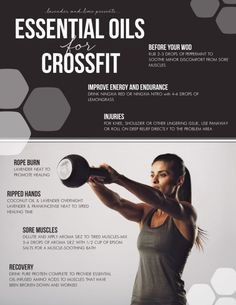 young living essential oils for crossfit workout...