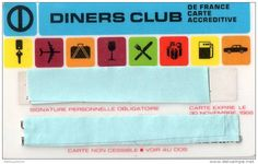 Diners Club France 1966