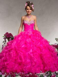 #pink #XV #dress QuinceañeraFantasy ❤️❤️