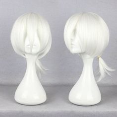 Onecos Anime Kagerou Project Konoha white Wig Hairpiece Cosplay * You can find more details by visiting the image link.