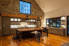 Juniper — Surround Architecture Lake House Plans, Mountain House Plans, House Floor Plans, Barn House Design, Dream Home Design, Modern House Design, One Storey House, Rustic Houses Exterior, Concept Home