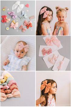 Fabric Bow Tutorial, Hair Bow Tutorial, Diy Bow, Diy Ribbon, Barrettes, Scrunchies, Painted Leaves, Fabric Bows, Diy Hair Accessories