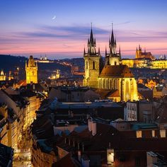 Sweet dreams from Prague.