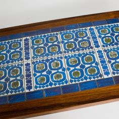 Royal Copenhagen Tiled Table