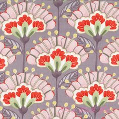 Lantern Flower Zen Grey  made by Moda Fabrics  designed by Kate Spain  collection: Good Fortune