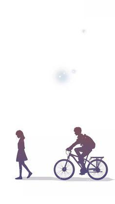 Cute Couple Drawings, Cute Couple Art, Cute Couple Cartoon, Anime Couples Drawings, Cute Drawings, Cute Love Wallpapers, Cute Couple Wallpaper, Anime Scenery Wallpaper, Cute Cartoon Wallpapers