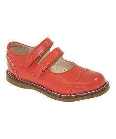 Take a look at this Brilliant Red Mackenzie Shoe by FootMates on #zulily today!