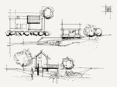 Interesting Find A Career In Architecture Ideas. Admirable Find A Career In Architecture Ideas. Sketchbook Architecture, Architecture Graphics, Architecture Portfolio, Concept Architecture, School Architecture, Architecture Design, Sketches Arquitectura, Conceptual Sketches, Plan Sketch