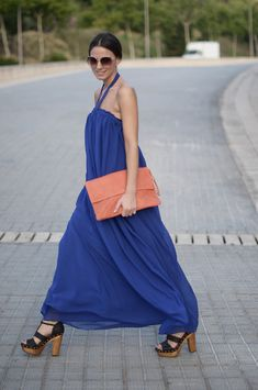 Blue Dress (by Zina CH) http://lookbook.nu/look/2120093-Blue-Dress