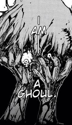 I am a ghoul (( tokyo ghoul kaneki ken ))