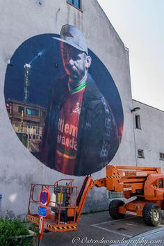Street Art: The Crystal Ship #2 #Urban #Art #SebasVelasco #Oostende  #The Crystal Ship #Streetart #Streetartphotography