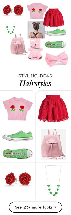"""""""Darling,Never Grow Up """" by theperfectstorm on Polyvore featuring Converse, Bling Jewelry and Moschino"""