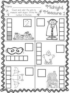 Halloween Math in Kindergarten * Boo!