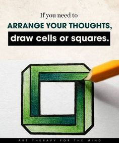 15 Simple Art Hacks You Can Use To Control Your Mind And Channel Your Emotions – Elena Clamen – art therapy activities Art Therapy Projects, Art Therapy Activities, Therapy Worksheets, Therapy Tools, Group Activities, Play Therapy, Therapy Ideas, Massage Therapy, Creative Arts Therapy