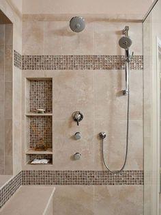 Azulejos beige - para aplicación pared de la ducha