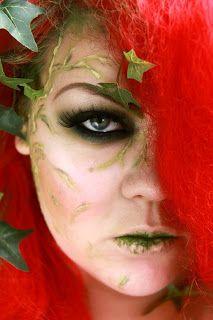Poison Ivy makeup by Jangsara. Loooove it
