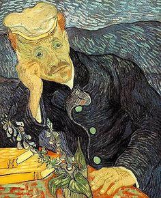 Le Docteur Gachet, 1890, huile sur toile (66×57cm), collection privée[Note 9], F753/JH2007.