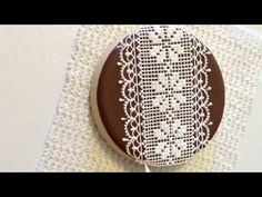 My little bakery :): Cookie Con 2015. My presentation. Lace cookie. part 1. Amazing!