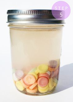 Fashionably Bombed: DIY Tuesday: Smarties Infused Vodka