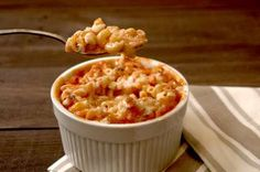 Tomato Soup Mac N Cheese-- will probably make again. Tasty, hearty, and super unhealthy. :)