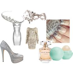 """SILVER NIGHTS"" by jelena-peranic on Polyvore"