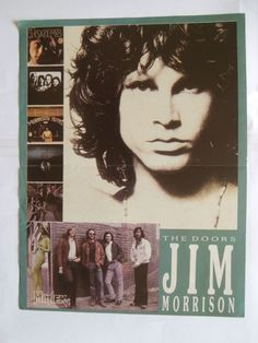 Julia Roberts Jim Morrison Poster from Greek Mags clippings 1970s 1990s | eBay