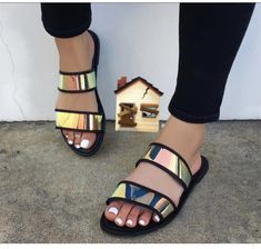 JGeTters Women Exquisite Dazzling Slide Slippers - Cheap Deal, online shopping in nigeria, best cheap online shopping sites in nigeria, pay on delivery sites in nigeria Women's Shoes, Shoes Flats Sandals, Slipper Sandals, Cute Sandals, Cute Shoes, Wedge Shoes, Me Too Shoes, Shoe Boots, Shoes Sneakers